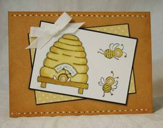 SC208 Hive Sweet Hive by sleepyinseattle - Cards and Paper Crafts at Splitcoaststampers