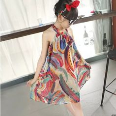 Cheap dress girls summer, Buy Quality teenage girl directly from China girls summer Suppliers: Kids Girls Halter Dress Summer Dress 2018 Teenage Girls Bohemian Beach Dress Flower Patterned Dress Girls Summer Clothes Vestido Halter Dress Summer, Summer Dresses 2017, Girls Summer Outfits, Teenage Girl Outfits, Summer Girls, Cute Outfits, Kids Girls, Summer Clothes, Dress Beach