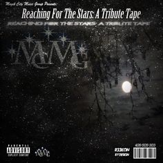 """This is the cover art to """"Reaching For The Stars: A Tribute Tape"""" Designed by Luis M. Check out the tribute tape here: http://magikcitymusicgroup.bandcamp.com/album/reaching-for-the-stars-a-tribute-tape"""