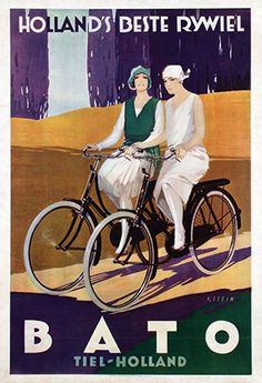 Bato bicycles ~ Johann A.W. von Stein