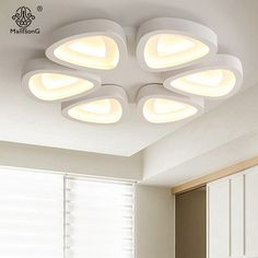 Modern LED Point Ceiling Lights Remote Control Creative Acrylic Lampshade Lighting For Decor Hall Study Bedroom Smart House Lamp Ceiling Ideas, Ceiling Design, Ceiling Lights, House Lamp, Smart House, Led, Point, Ceilings, Distance