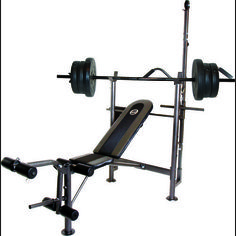 CAP Barbell Combo Bench With 80 lb. Weight Set - Fitness Equipment, Weight Benches at Academy Sports
