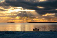 The summer waiting. Bellevue beach in Hanko, Finland Photo by Jussi Mutila