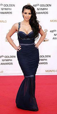 Kim Kardashian at the 2009 Monte Carlo Television Festival