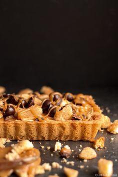 Snickerdoodle Crust Caramel Tart | Club Narwhal