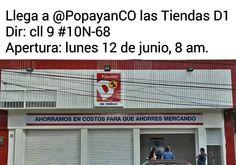 Este lunes se abre al público la primer tienda D1 en #PopayánCO