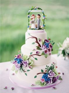 Does this whimsical wedding cake make you want to see more from the gorgeous new forthcoming book from Style Me Pretty ? More photos here:. Whimsical Wedding Cakes, Beautiful Wedding Cakes, Gorgeous Cakes, Amazing Cakes, Gorgeous Gorgeous, Fancy Cakes, Cute Cakes, Pretty Cakes, Pink Cakes