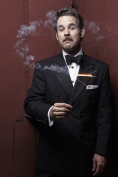 What? You want MORE crazy GIFs of me? ALL RIGHT!!! - Paul    liezlwashere:    Paul F. Tompkins by Rachael Porter