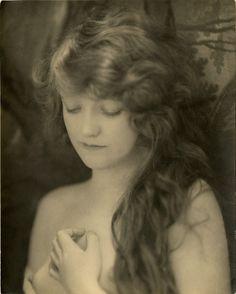Pensive ~ Lovely 1910s portrait