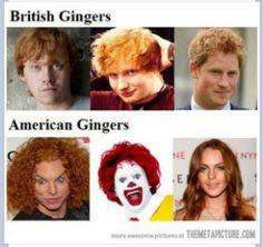 British Gingers <3