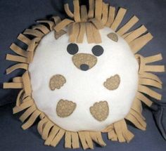 cute hedgehog pillow!
