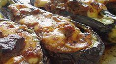 Papoutsakia (Stuffed Eggplants)