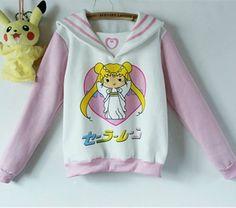 Sudadera Sailor Moon Sweatshirt WH040 - Thumbnail 4