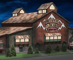 Dolly Parton's Lumberjack Adventure Dinner & Show