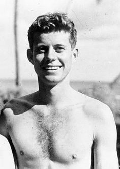 Young John Fitzgerald Kennedy