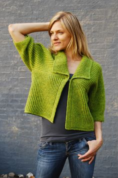 Love the color and shape for slip stitching.  I want a copy of the aloo-nettle string sweater.