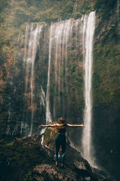 Exactly How To Get To Tumpak Sewu Waterfall in East Java (Photos, Maps and Essen. - Exactly How To Get To Tumpak Sewu Waterfall in East Java (Photos, Maps and Essential Tips) – The Mandagies The Epic Journey To Tumpak Sewu, East Java – The Mandagies - Wanderlust Travel, Wanderlust Quotes, Travel Photography Tumblr, Photography Beach, Photography Business, Adventure Photography, Digital Photography, Beautiful Nature Photography, Photography Puns