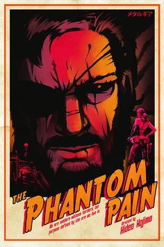 Metal Gear Poster  The Phantom Pain by Crowsmack on Etsy