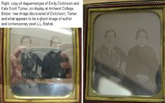 Another Emily Dickinson daguerreotype? Apparently so. This one has a ghost...