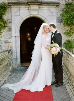 Classic elegant Kildare county wedding in Ireland: http://www.stylemepretty.com/2016/03/03/real-weddings-thatll-convince-you-to-get-married-in-ireland/