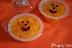 jack o'lantern oranges- cute for a kid's halloween party