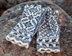 Ravelry: dalerose's Selbu strikk mittens and gloves.