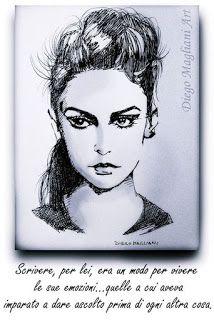 """Semino pensieri accidentali...semplicemente Zed72: """" Scrivere,per lei.... """" di Diego Magliani Art"""