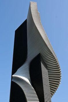 Sapporo, Japan by Igor Kryzhko  Design   #MichaelLouis - www.MichaelLouis.com #futuristicarchitecture