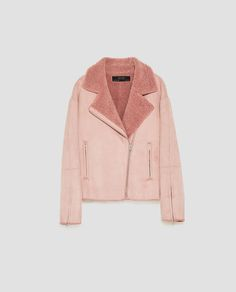 Image 11 of SUEDE EFFECT JACKET from Zara