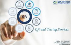 We at QA InfoTech have a  matured team of QA experts with years of expertise to delivers end to end software testing solutions with quick turnaround. Our dedicated team of Automation & Performance testing expert can help you with solution using Open Source and Industry standard tools.  To know more about our QA and Testing services or quick consultation feel free to get in touch with our experts at info@qainfotech.com or visit us at http://qainfotech.com/ or call us at +91 - 9560000079