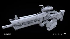 ArtStation - Destiny: Scout Rifle 1A, Milton Cadogan