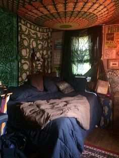 Everyone can be together, peacefuly. Room Design Bedroom, Room Ideas Bedroom, Home Bedroom, Bedroom Decor, Bedrooms, Chill Room, Cozy Room, Chambre Indie, Grunge Bedroom