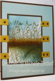 Grass Reflection - MZ by Zindorf - Cards and Paper Crafts at Splitcoaststampers