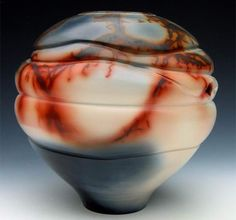 Naked Raku and Alternative Firings - vase inspiration
