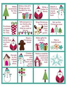 Printable advent activities!