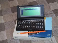 Remember the early mobile DOS PC?