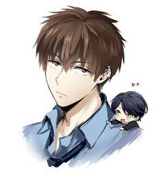 Hori + Chibi Kashima. ♥