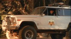 "1979 #Jeep Cherokee Chief [SJ] in the movie ""Curse of the Forty-Niner"". Circa 2003."