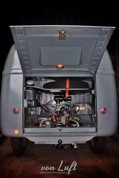 Spotless barn door VW bus