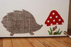 Hedgehog Wall Decal