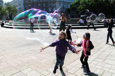 Seifenblasen entdecken Soap Bubbles, Face, Kids
