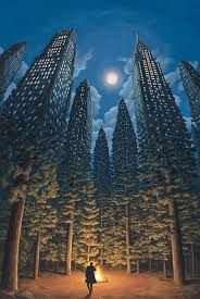Today the Department of Astonishing Optical Illusions is pleased to present the work of Canadian artist Robert Gonsalves. Inspired at a young age by the work of Surrealist artists such as Salvador. Magritte, Robert Gonsalves, Optical Illusion Paintings, Optical Illusions Drawings, Optical Illusion Tattoo, Art Optical, Magical Paintings, Amazing Paintings, Famous Art Paintings