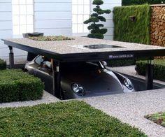 Under driveway parking