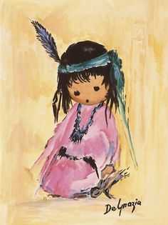 DeGrazia® - Love Me Crystal Tile. The creation of these beautiful tiles have been inspired by the art of DeGrazia®. There are two sizes of tiles available – 6″ x 8″ and 8″ x 10″.  $27.95