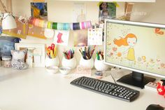 2014 is going to be #colourful, #reorganize my desk and make it super colorful