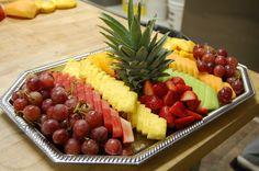 Fruit platter for party