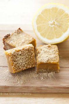 Clean Eating Lemon Bars