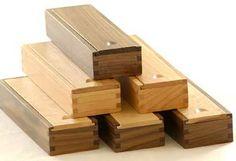 wood pencil box plan