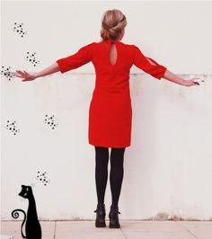 Ginger dress by La Maison Victor. More DIY fashion inspiration: www.lamaisonvictor.com