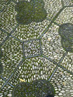 Floor at Portland Chinese garden